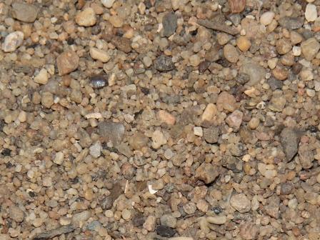 Не фракционированный песок